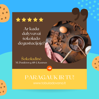 Šokolado degustacija